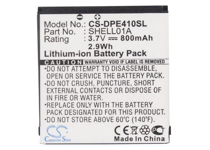 Cameron Sino 800mAh Battery SHELL01A for Doro PhoneEasy 409, 409GSM, 410,410GSM, 605, 605GSM, 610, 610GSM, 612, 612GSMCameron Sino 800mAh Battery SHELL01A for Doro PhoneEasy 409, 409GSM, 410,410GSM, 605, 605GSM, 610, 610GSM, 612, 612GSM