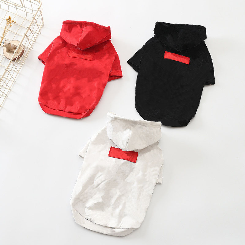 Printing Dog Clothes For Small Dogs French Bulldog Hoodies Chihuahua Coat For Puppy Cat Fashion Dog Apparel Dropshipping PC0415