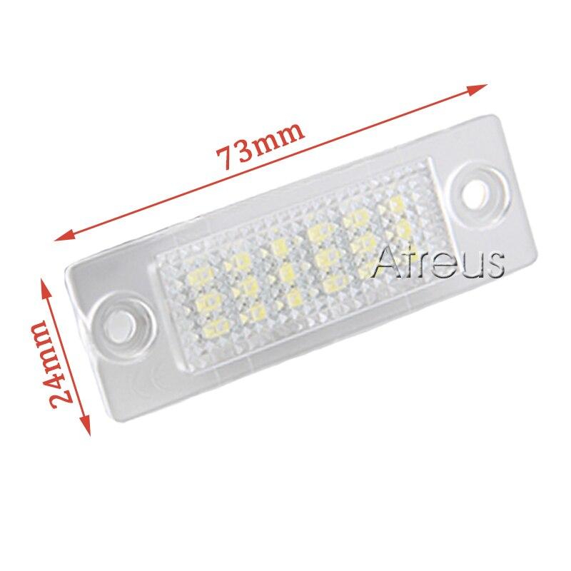 2Pcs LED φώτα πινακίδων πινακίδων SMD3528 - Φώτα αυτοκινήτων - Φωτογραφία 4