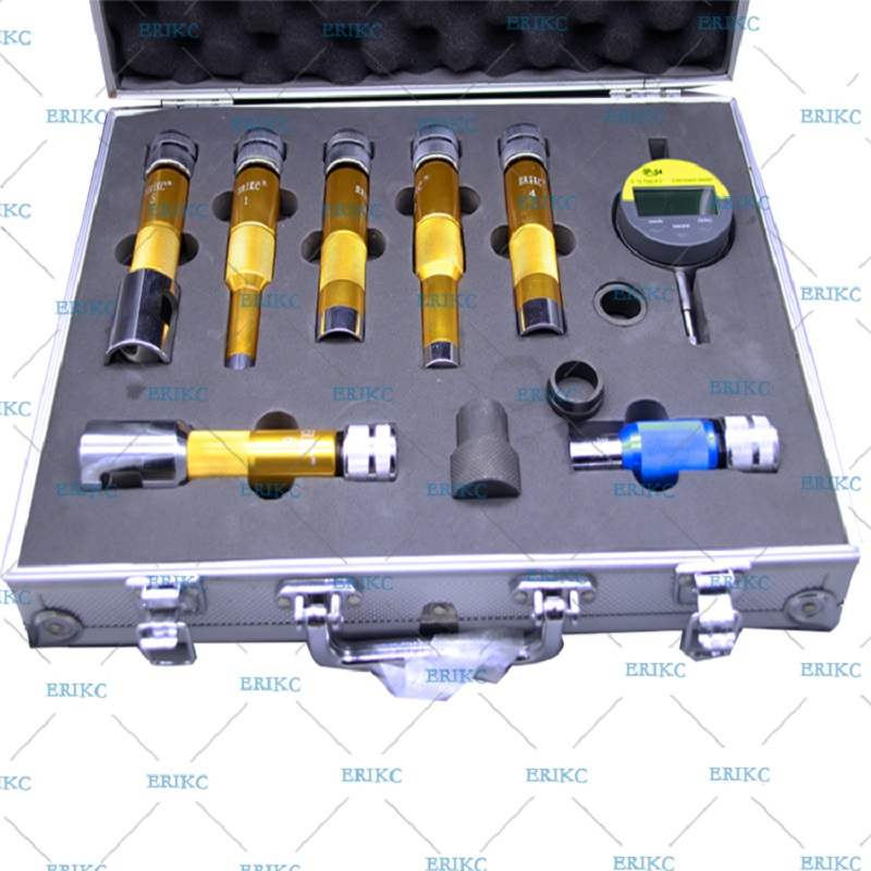 ERIKC Shims Lift Measure Instrument E1024007 Common Rail Injector Nozzle Washer Space Testing Tools sets