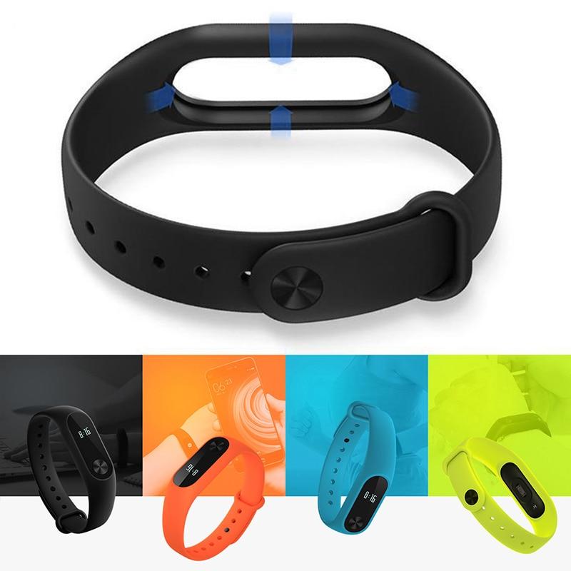 Mi Band 2 Silicone Wrist Strap For Xiaomi Mi Band 2 Smart Watch Strap Xaomi Xiomi Miband2 Miband Band2 Accessories Bracelet