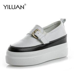 Yiluan new Sneakers women Plat
