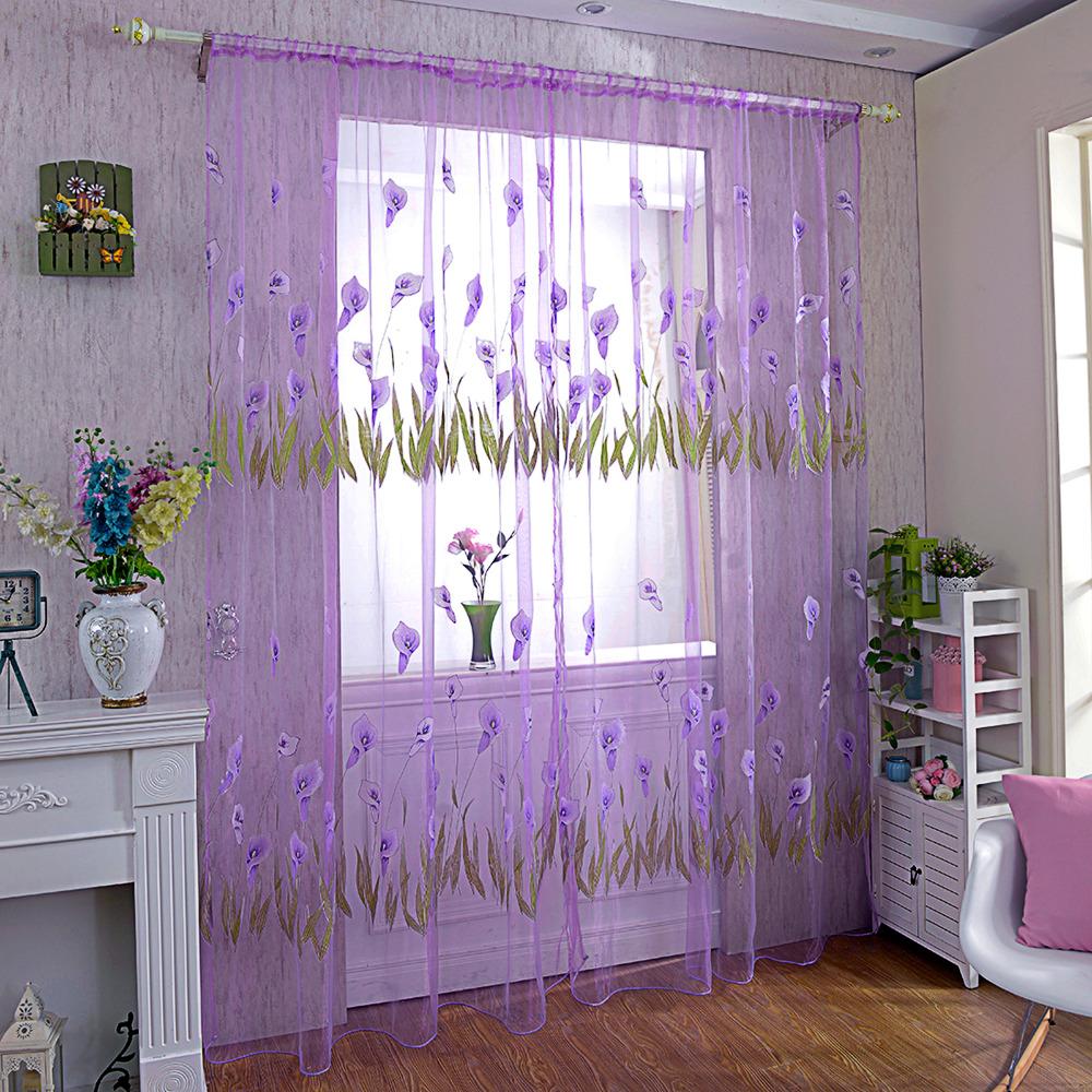Online get cheap mädchen vorhänge lila  aliexpress.com ...