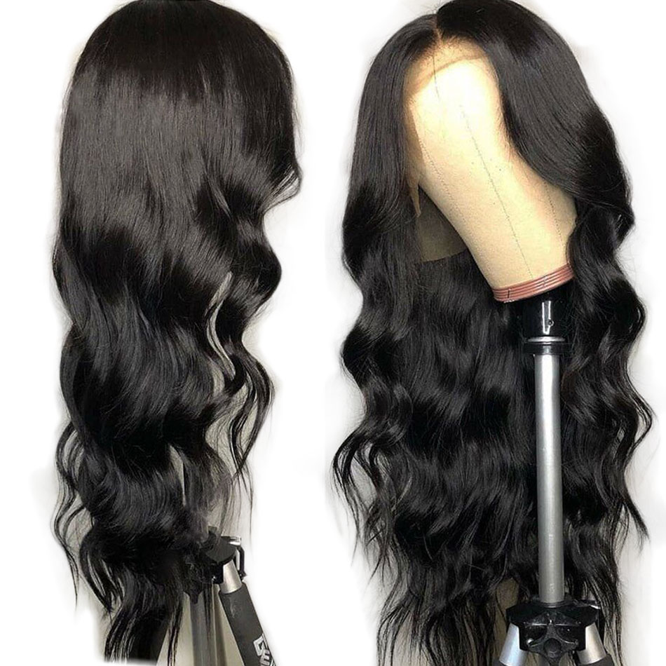 Brazilijos plaukų rinkiniai su uždarymo kūno bangomis plaukams su 2/3/4 paketais MIHAIR Remy žmogaus plaukų rinkiniai su nėrinių uždarymu