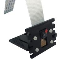 Малина Pi Камера Кронштейн регулируемый Pi 3 Камера Кронштейн черный акрил крепление для Raspberry Pi zero W Камера