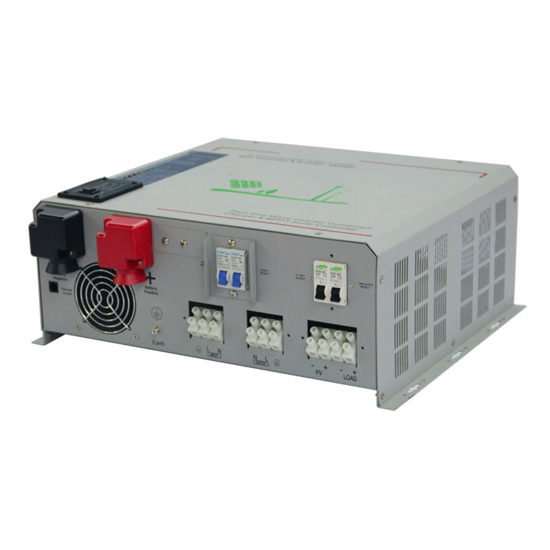 DECEN@ 24V 1500W Peak Power 3000W Pure Sine Wave Solar Inverter Built-in 40A MPPT Controller For Any Rechargeable Battery,LED decen 48v 4000w peak power 8000w 12000va pure sine wave solar inverter built in 60a mppt controller with communication lcd show