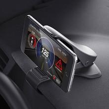 Universal Car Phone Holder Dashboard Mount Cradle Cellphone