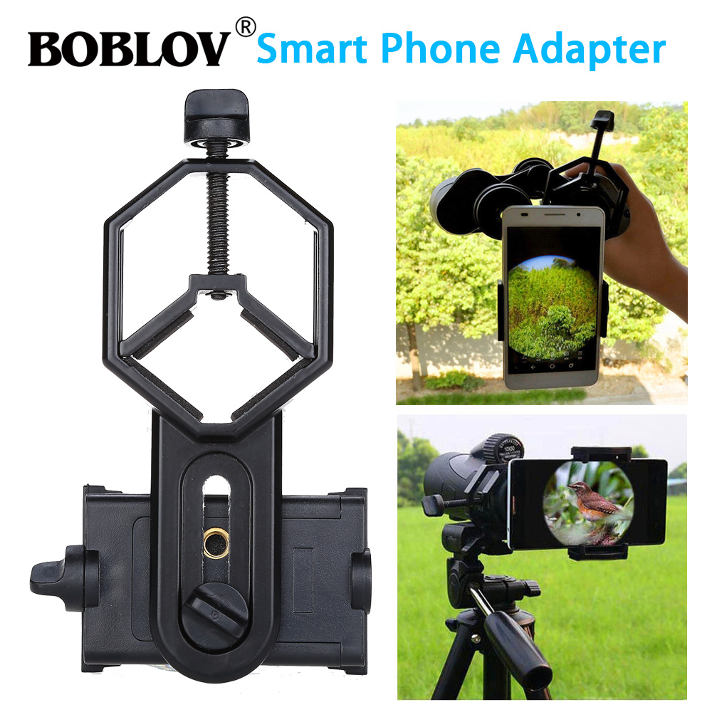 Free shipping!Spotting Scope Cell Phone Holder Astronomical Telescope Universal Stand Mount-in Spotting Scopes from Sports & Entertainment