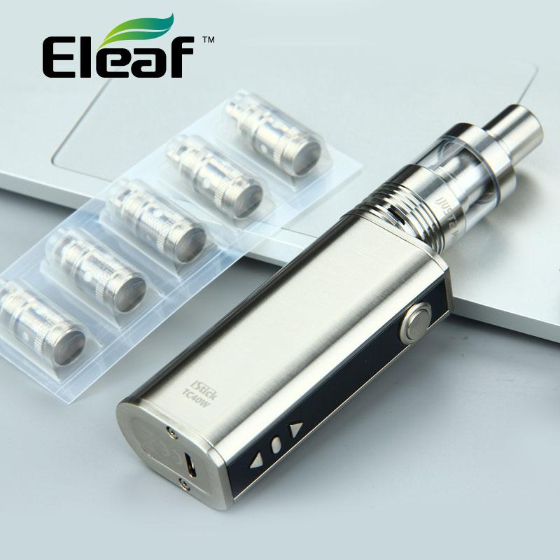 100% Original Eleaf iStick TC 40W Mod 2600mAh Battery Capacity with  iJust 2 Mini Atomizer and 5pcs Eleaf ijust2 EC Coil Head mako clean порошок стиральный universal универсальный 650 г