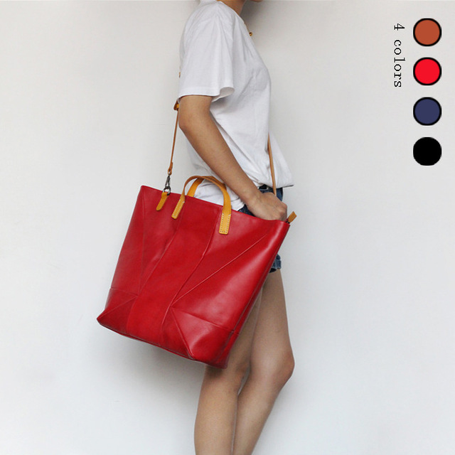 Cow Leather Handbags Big Women Bag Casual Female Bags Trunk Tote Spanish Shoulder Bag Ladies Large Bolsos