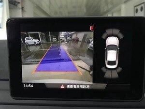 Для Audi Новый A4 B9 8W 3V0 827 566 L ручка багажника заднего вида камера с Highline наведения линейный провод жгут