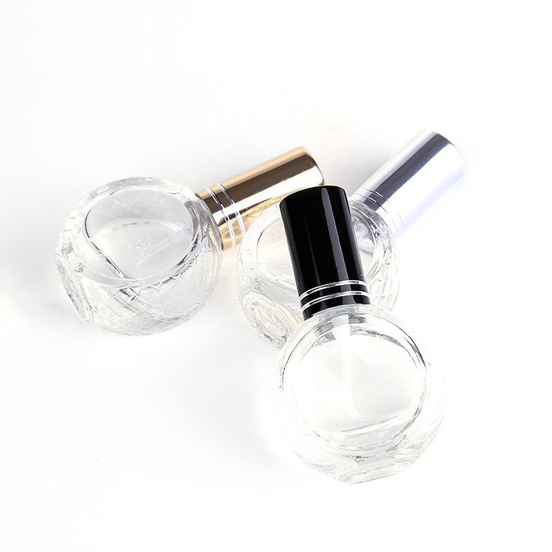 Image 4 - 50pcs 3 Color 10ml Mini Transparent Glass Perfume Bottle Portable Travel Perfume Atomizer-in Refillable Bottles from Beauty & Health