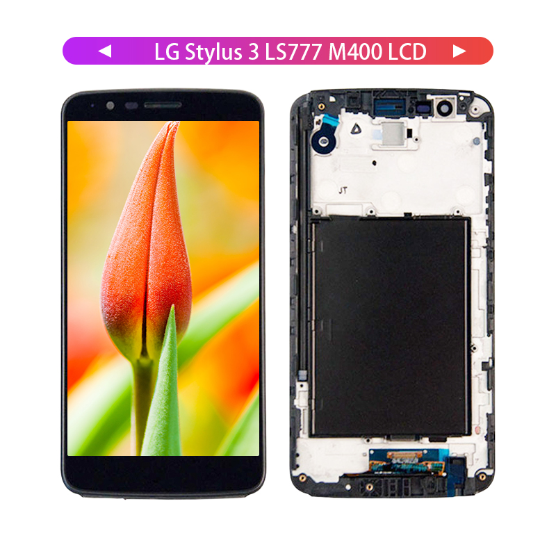 Free Tools For LG Stylus 3 LS777 M400 M400DF M400N M400F M400Y LCD Display With Touch Screen Digitizer Frame Assembly
