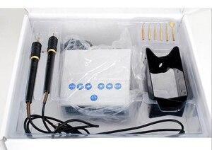 Image 5 - Laboratoire dentaire électrique mince cire sculpture couteau Machine Double stylo 6 cire pointe Pot laboratoire dentaire