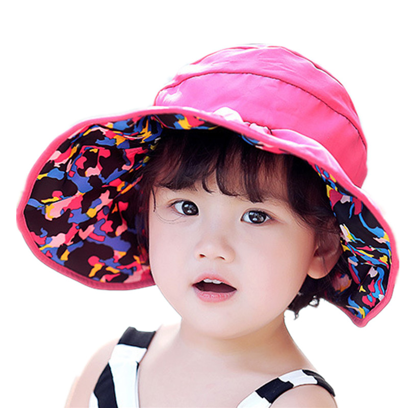 Double sided sun hat camouflage empty top hats children fisherman cap  outdoor sunscreen waterproof beach hat kids accessories-in Sun Hats from  Apparel ... aa06cf92847
