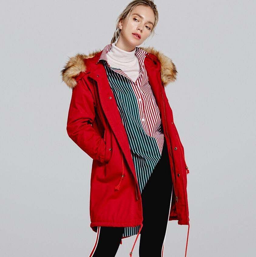 Parkas D'hiver Outwear Femmes Large Veste Qualité Haute Femelle vert Coton Manteau Extra 6 rouge Noir Épaississement De wOqtIxHq