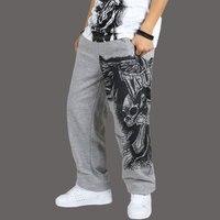 Trasporto Libero 2016 Vendita Calda Hip hop pantaloni hiphop Maschio pantaloni Casual Completi gioventù allentato Grandi Dimensioni Pantaloni Lunghi