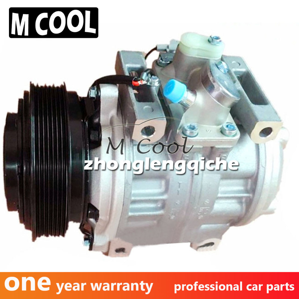 Air-conditioning Installation Intelligent 10pa30c Air Conditioner Compressor For Toyota Coaster Ac Compressor 7pk 12v 24v Cleaning The Oral Cavity.