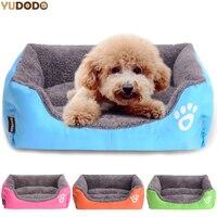 Zomer Rechthoek Snoep Gekleurde Honden Bedden Zachte Warme Huisdier Huis Kennel Ademend Cool Mat Kussens Voor Kleine Honden Katten S/M/L