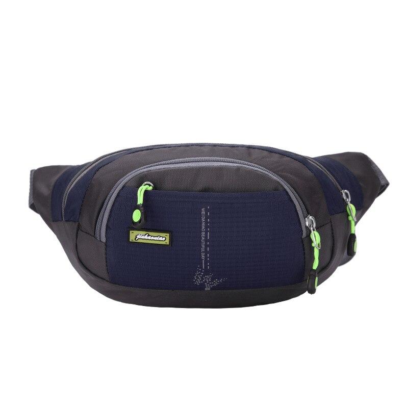 52bcf62f51 2018 new Men Waterproof Fanny Pack Waist Bag Hip Bum Belt Messenger  Shoulder Pouch Purse Women Men Waist Belt Pack Bag Pouch