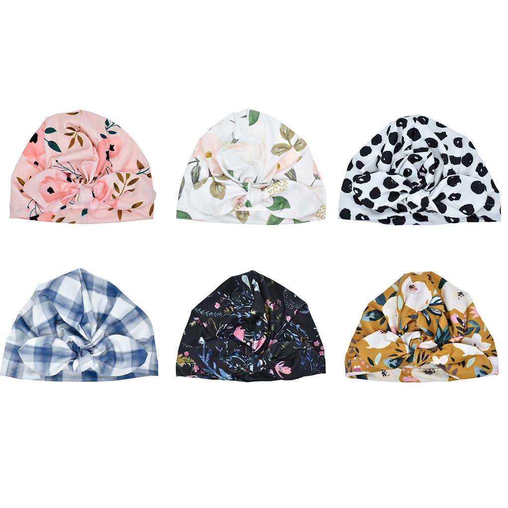 น่ารักทารกแรกเกิดหมวกเด็กทารกเด็กวัยหัดเดินเด็กทารกเด็กทารกเด็ก Turban หมวกผ้าฝ้ายหมวกเด็กหมวกฤดูใบไม้ร่วงฤดูหนาว Warm หมวกสาวฝ้ายทารก