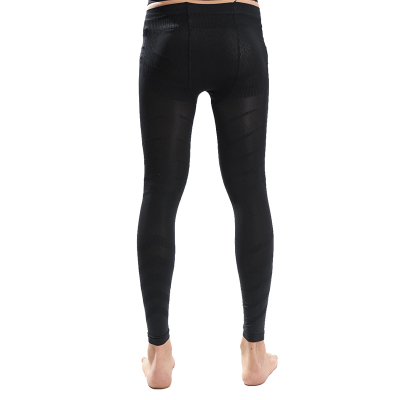 Cn Herb Men Thin and light tight body body tightening pants body shaping pants nine pants K62 in Massage Relaxation from Beauty Health