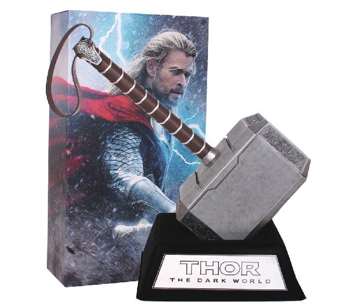 Super hero the avengers quake martello di thor movie props 1:1 modello elettrodomestici thor cosplay martello