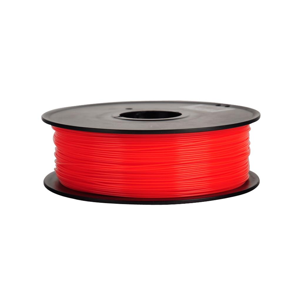 3d Printing Materials pla 1.75mm 1kg/spool filamento vareta 12 Colors : Black, White, Red, Blue