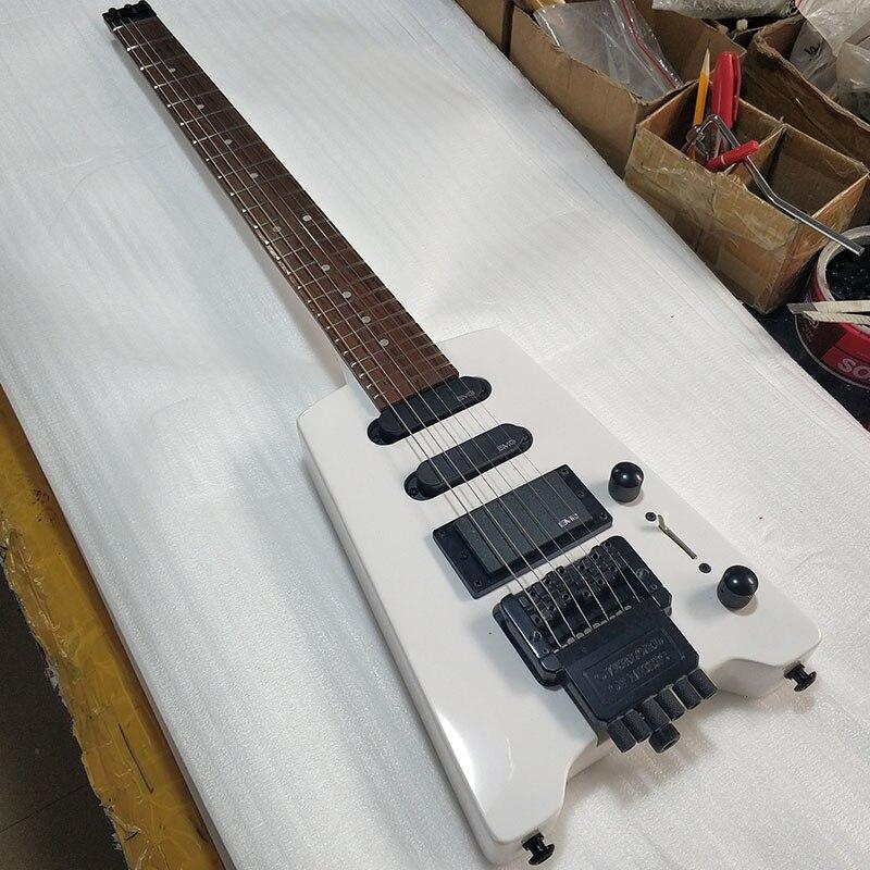 Au-delà de Huang Guanzhong guitare électrique sans tête Portable guitare de voyage personnalisable