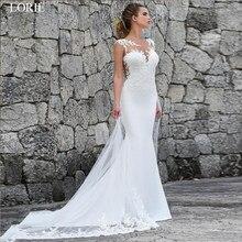 501602522ed58a7 Лори Русалка Свадебные платья Турция 2019 кружево свадебное платье с  аппликациеми индивидуальный заказ свадебное платье vestidos