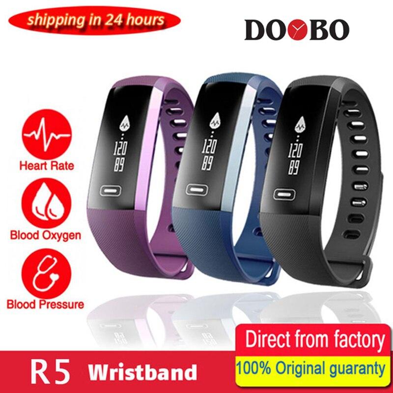Original M2 Smart wrist Band R5 PRO Heart rate Blood Pressure Oxygen Oximeter Sport Bracelet Watch intelligent For iOS Android
