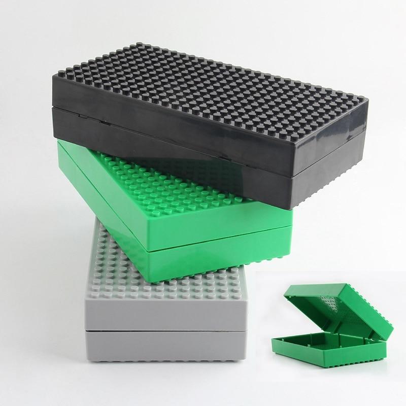 Blocos construção com legoe brinquedos para Color : Green, gray, black