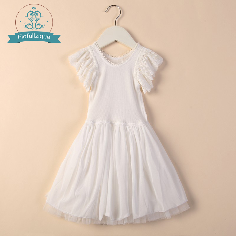 Baby Girls tutu Dress 2017 summer Brand kids dresses wedding and Party white Lace tulle princess dresses children's clothing suton baby girls dresses summer tutu princess baby flower costume lace tulle baby casual party dress for 2 6 years kids dresses