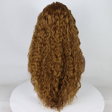 Fantasy Beauty Curly Lace Front Wigs For Female Synthetic Heat Resistance Honey