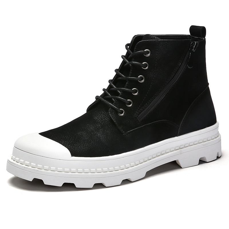 Homme En D'hiver Casual Chaussons black Designer Gray Chaude Vente Hommes Velvet Cuir BottesMxz8309097 gray And Mode black Velvet WIEH29eDYb