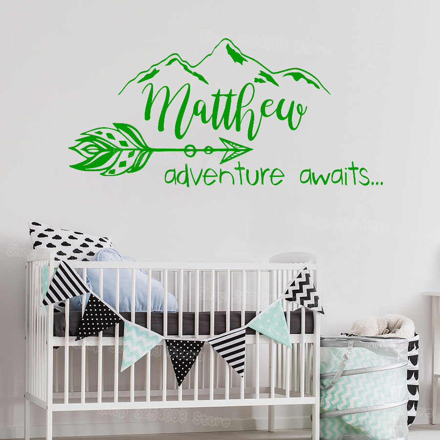Boho Arrow Wall Decal Nursery Adventure