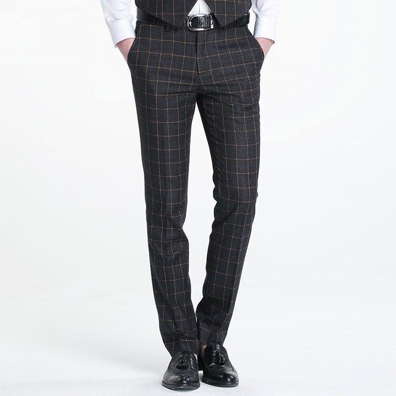 Popular Slim Dress Pants Men-Buy Cheap Slim Dress Pants Men lots ...