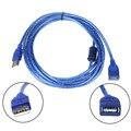 2016 de Alta Calidad USB 2.0 PIES de Cable 3 M USB 2.0 Un Varón a Una Hembra M De Cable de Extensión # ET