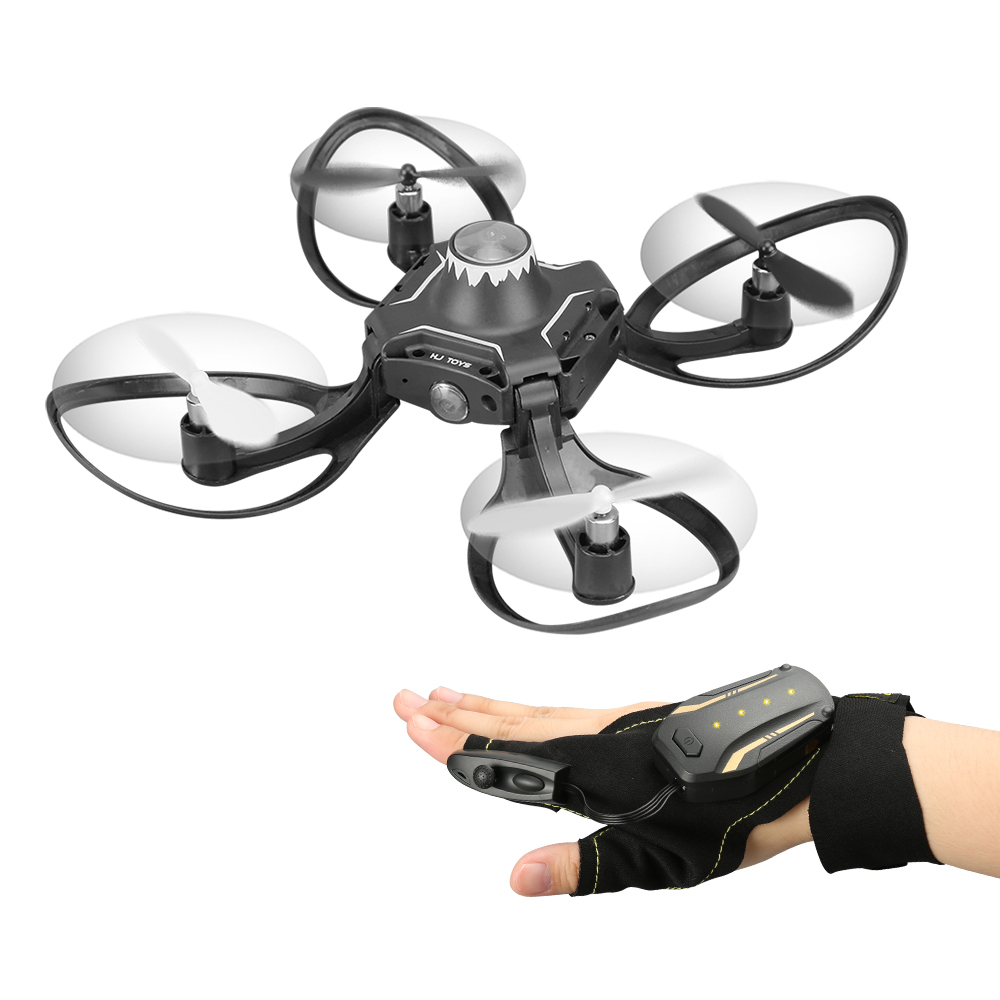 все цены на Dron 2.4G Glove Control Interactive Mini Drone w/ Alitude Hold Gesture Control RC Quadcopter for Beginners онлайн