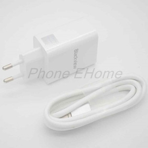 Original Blackview 5V 5A Super Fast Charger For Blackview P10000 pro Smartphone MTK6763 Octa Core Android 7.1 4G+64G Quad(China)