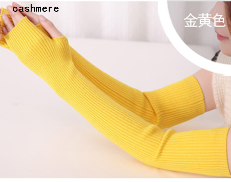 40cm 50cm 60cm Winter arm Female gloves s