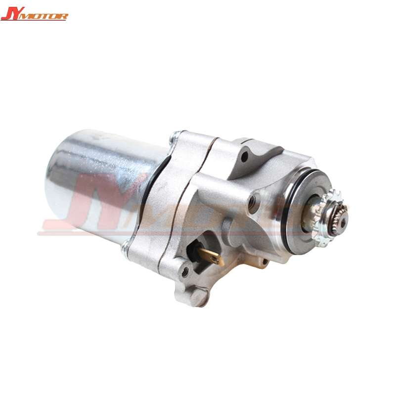 US $27 14 11% OFF|2 Bolt Lower Electric Starter Motor for 50cc 70cc 90cc  110cc 125cc Dirt Pit Bike Atv Quads Go Kart Buggy 4 Stroke Engine-in  Engines
