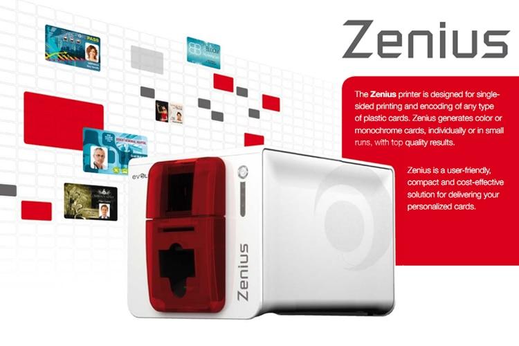 Ekarwelt evolis zenius single sided id card printer with ymcko g evolis zenius id card printer reheart Images