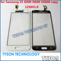 Сенсорный экран для Samsung Galaxy S5 G900 i9600 H9600 копия клон сенсорный экран стеклянная панель замены бесплатная доставка