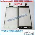 Pantalla táctil para Samsung Galaxy S5 G900 i9600 H9600 copia clon copia de cristal de la pantalla táctil reemplazos del Panel envío gratis