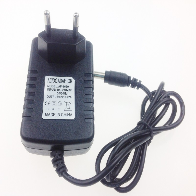 Hot New Universal Ac 100-240v Us Uk Plug For Dc 12v 2a 24w Power Supply Adapter Charger For Led Strips Cctv Security Camera Camera & Photo Accessories Camera Charger