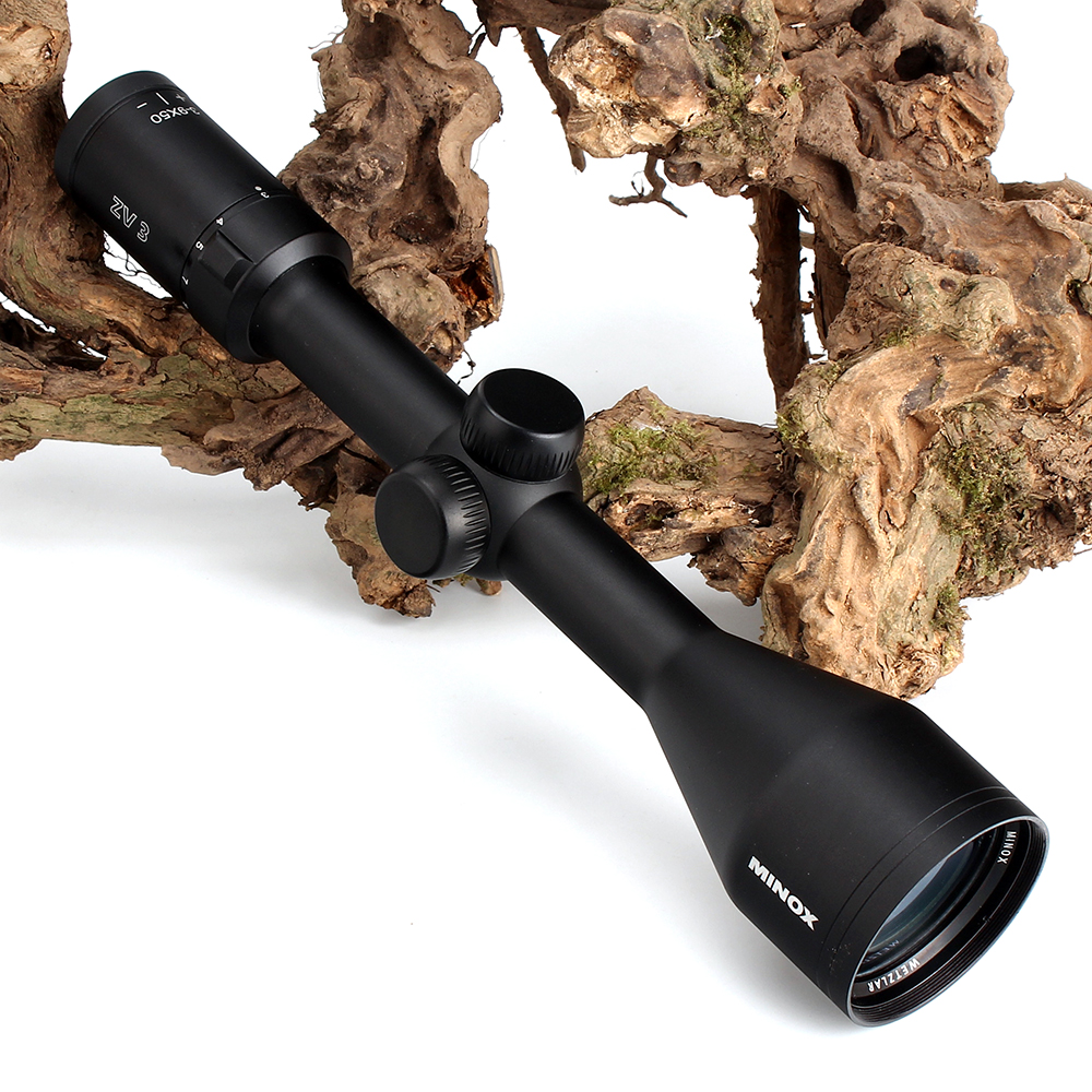 MINOX ZV 3 3-9X50 BDC 400 Reticle Hunting Rifle Scope 1 Inch Tube Long Eye Relief Tactical Optical Sight RifleScopes (6)