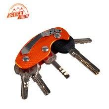 Новый Открытый EDC 35 г Сверхлегкий Multi Tool Брелок зажим Спасательное Снаряжение с Бесплатным Малых Частей Организатор Алюминиевый Ключ цепи