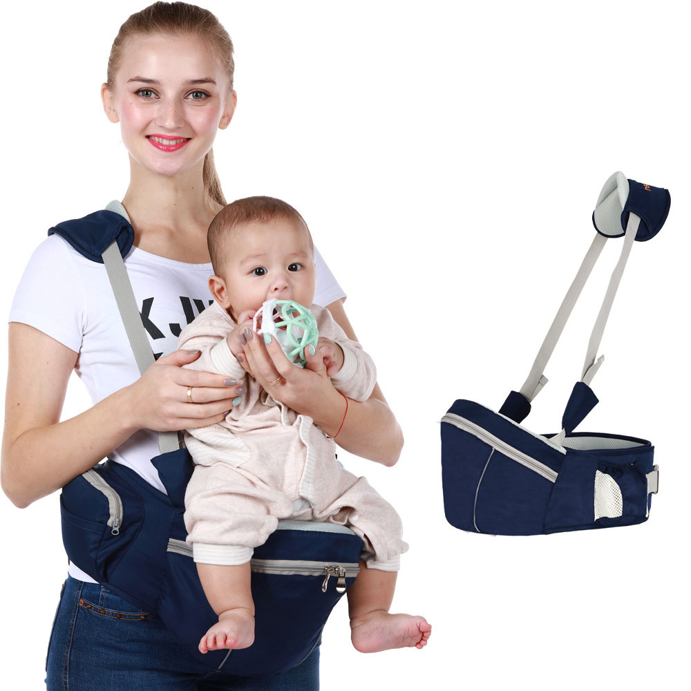 0-36 Month Baby Carrier Waist Stool Infant Baby Hipseat Sling Stool Kangaroo Baby Simple Bench Baby Wrap Carrier For Baby Travel