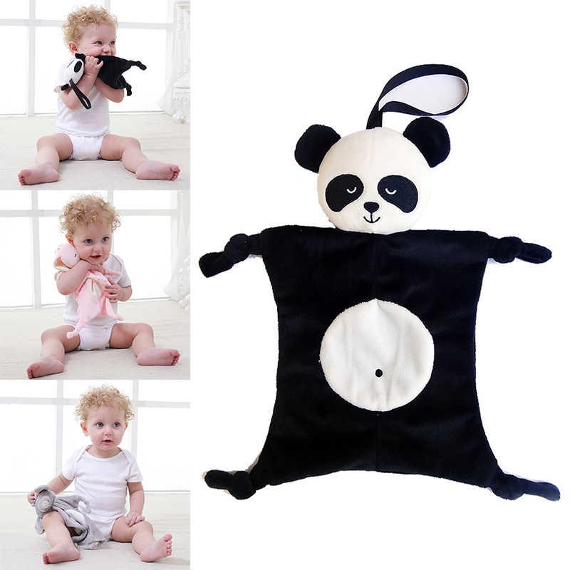 Bebés de peluche juguetes relajantes seguridad manta para bebé toalla calmante para el cuidado del bebé